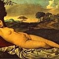 giorgione-入睡的維納斯