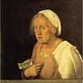 giorgione-老婦人的畫像