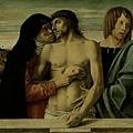 bellini-聖母和聖約翰托起已亡的基督