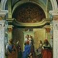bellini-寶座上的聖母和聖子及聖人﹝San Zacca