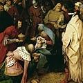 bruegel-三賢王的膜拜﹝The Adoration o