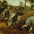 bruegel-盲人的寓意畫﹝The Parable of
