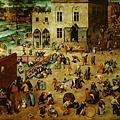 bruegel-孩子們的遊戲﹝Children's Game