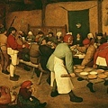 bruegel-農民婚禮﹝Peasant wedding﹞