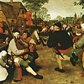 bruegel-農民舞會﹝The Peasant Dance