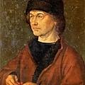 杜勒父親的肖像﹝Portrait of the Artist