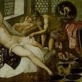 tintoretto-維納斯、華爾康及戰神﹝Venus, V