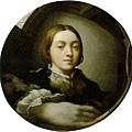 parmigianino-凸鏡中的自畫像﹝Self-port
