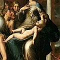 parmigianino-長頸聖母﹝Madonna with
