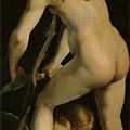 parmigianino-削弓的愛神﹝Cupid Carvi