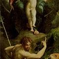 parmigianino-聖傑諾米的幻影﹝The Visio