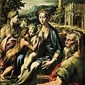 parmigianino-聖薩卡利亞的聖母﹝Madonna