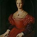 bronzino-潘賈提基的肖像
