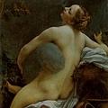 correggio-天神朱比特和少女伊歐﹝Jupiter a