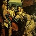 correggio-聖母和聖傑諾米﹝Madonna with