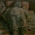 mantegna-哀悼死去的基督1490