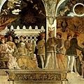 mantegna-婚禮堂﹝Camera degli Sposi﹞