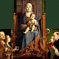 antonello-聖卡夏諾教堂之祭壇畫﹝San Cassiano Altarpiece﹞1475-1x