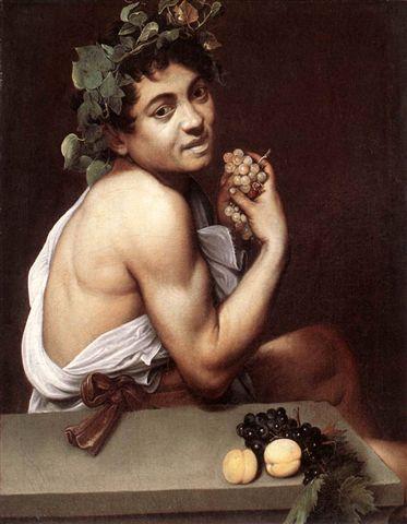 caravaggio-生病的小巴克科斯﹝Sick Bacchus﹞