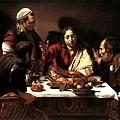 caravaggio-在伊默斯的晚餐﹝The Supper at Emmaus﹞