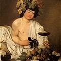 caravaggio-年輕的酒神﹝Bacchus﹞