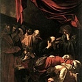 caravaggio-聖母之死部分﹝The Death of the Virgin ﹞