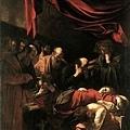 caravaggio-聖母之死部分﹝The Death of the Virgin ﹞