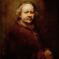 rembrandt-自畫像﹝Self-Portrait﹞1669