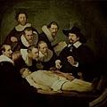 rembrandt-杜爾博士的解剖學課