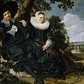 hals-花園中的一對夫妻1622x