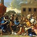 poussin-遭劫掠的薩比奴女人1634x