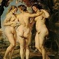 rubens-優美三女神﹝The Three Graces﹞1639x