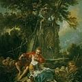 boucher-秋天田園牧歌﹝An Autumn Pastoral﹞
