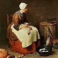 chardin-削蔬菜的少女﹝Girl Peeling Vegetables﹞.jpg