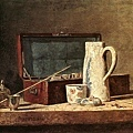 chardin-煙斗和酒杯﹝Pipes and Drinking Pitcher﹞.jpg