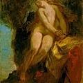 delacroix-安多洛美達女神﹝Andromeda﹞.jpg