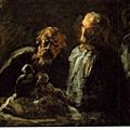 Daumier - Two Sculptors