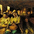 Daumier-The Third-Class Carraige 第三級的車箱