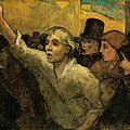 Daumier-The Uprising 暴動