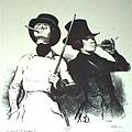 Daumier-Le Premier Cigarre, Les Beaux Jours de la Vie