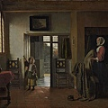 Pieter de Hooch--The Bedroom 1658-1660
