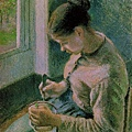 Pissarro--Peasant Girl Drinking her Coffee.jpg