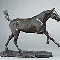 degas-右足點地的奔馬﹝Horse Galloping on Right Foot﹞1881.jpg