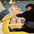 cassatt-划船﹝The Boating Party﹞1893m