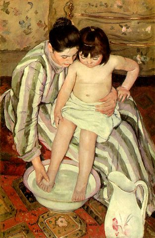 沐浴﹝The bath﹞1870