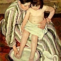 renoir-浴女與半獅半鷲怪獸﹝Bather with a Griffon﹞1870.jpg
