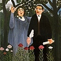 rousseau-詩人和他的繆斯﹝The Muse Imspiring the Poet﹞1909.jpg