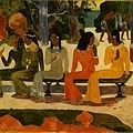 gauguin-市集﹝The Market﹞