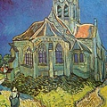 Van Gogh - L'Eglise d'Auvers c.1890