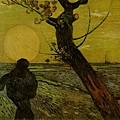 Van Gogh-夕陽下的播種者